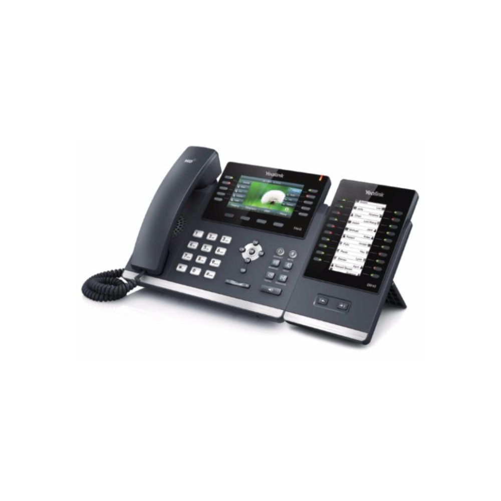 Телефон VoIP Yealink SIP-T41P SIP-телефон 3 линии BLF PoE БЕЗ БП