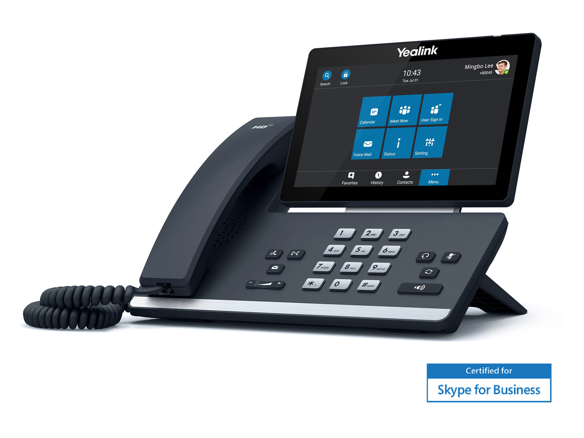 Yealink SIP-T58A для Skype for Business
